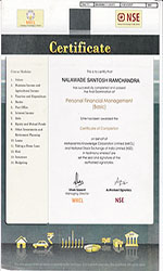 Certificate of Personal Financial Management